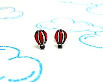 Lil' Hot Air Balloons, Stud Earrings