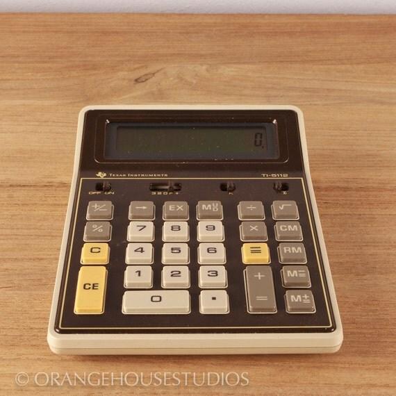 1980 Texas Instruments TI-5112 desktop 12 place calculator
