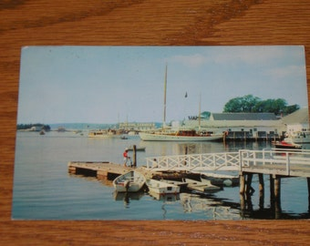 Used Picture Postcard Boothbay Harbor Maine