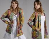 Vintage MISSONI  Knitted Cardigan Sweater Jacket - S M
