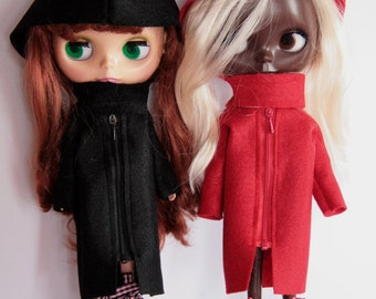 Silviacat - Coat for Blythe and Pullip