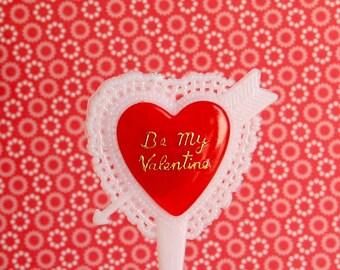 12 Be My Valentine Cupcake Picks
