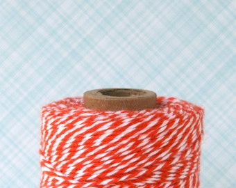 Mandarin Orange Baker's Twine (240 yards)