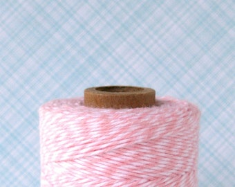 Pink Baker's Twine, Light Pink Bakery Twine, Light Pink Baker's String (240 yards)