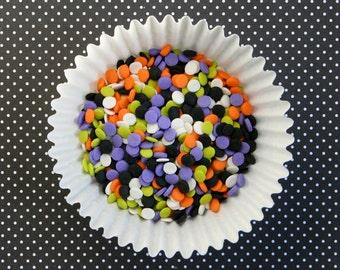 Halloween Confetti Sprinkles (3 ounces) Halloween Mini Dot Sprinkles, Halloween Sprinkles, Halloween Mini Quins