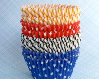 Cupcake Liners Baking Cups - Circus Mix (60)