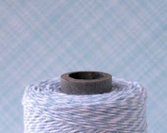 Shore Blue Baker's Twine - Light Blue and White Twine (240 yards)
