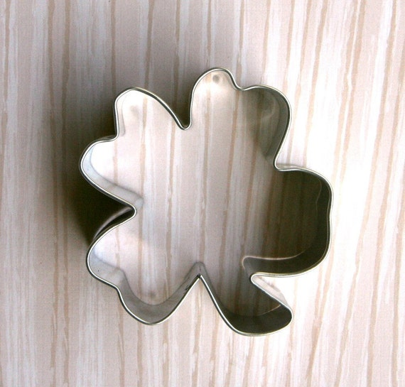 4 Leaf Clover Cookie Cutter, St. Patrick's Day Cookie Cutter, Clover Cookie Cutter