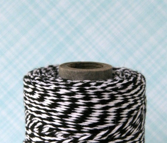 Charcoal Black Baker's Twine (240 yards)