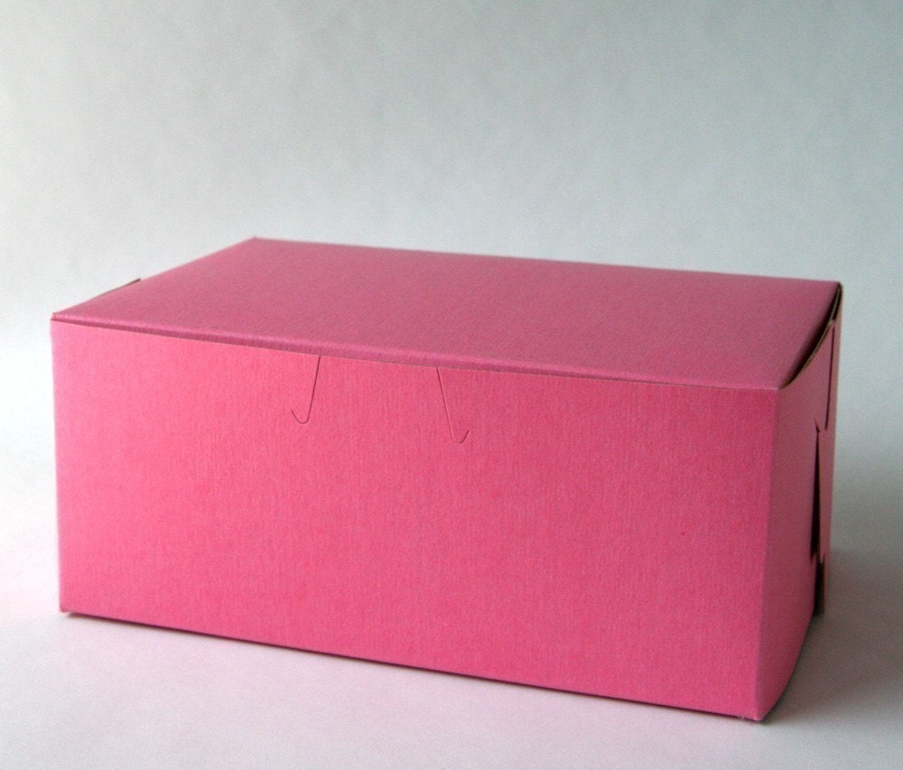 Cute Bakery Boxes Pink Pastry Boxes / Bakery