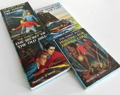 Set of Four, Vintage, The Hardy Boys, 1960s, Instant Collection, Photo Prop, a Wonderful Gift - SHIPPING INCLUDED within the continental US