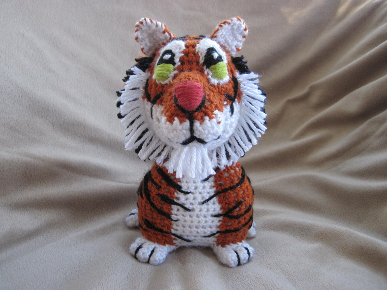Tiger PDF Crochet Pattern Digital Download by ...
