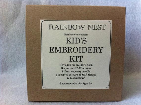 Kid's Embroidery Kit