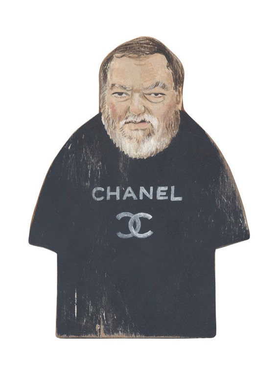 Original Art - The Chanel Man from Fitzroy