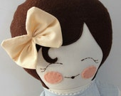 Penny - handmade cloth doll