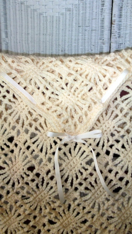 Spiderweb Lace Christening Blanket Pattern Permission To