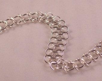 Centipede Bracelet - Sterling Silver
