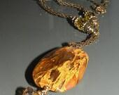 Tigerskin pendant