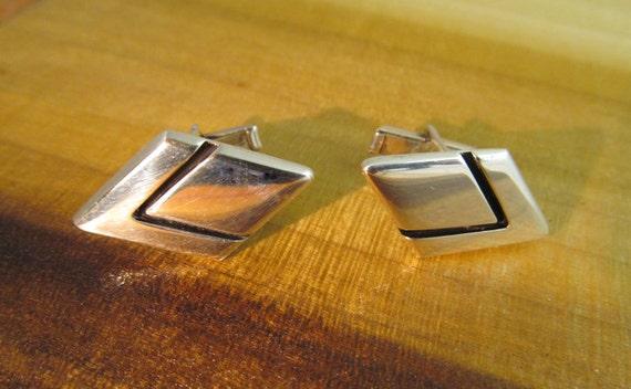 Sigi Silver Cufflinks Taxco