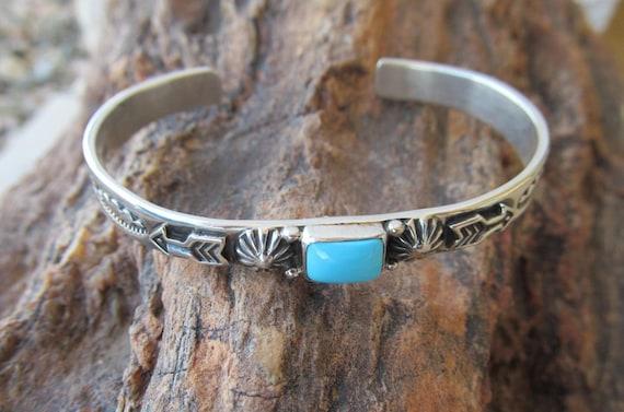 Albert Jake Bracelet Silver Navajo