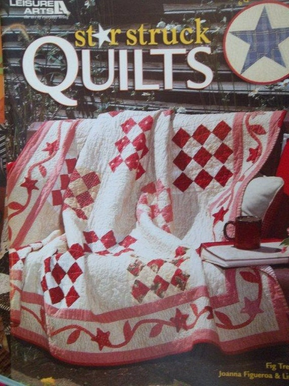 Sale - Nine  - NEW - Quilt Books - Patchwork - Furry Friends - Star Struck - Machine Applique - Cottage Garden -  Berry Hill - Croked Cabin