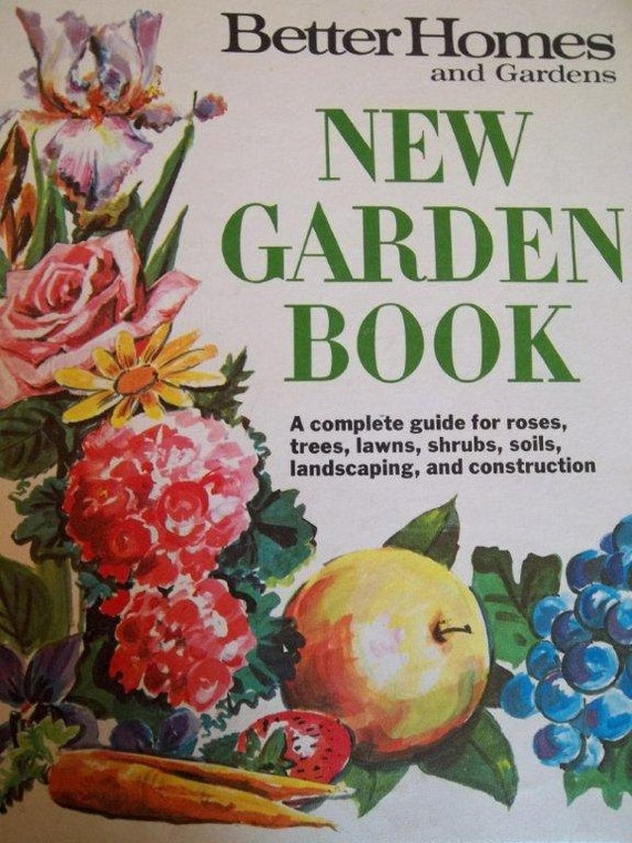 Better homes and gardens 1968 new garden book by - Better homes and gardens cookbook 1968 ...