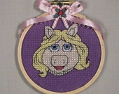 Miss Piggy Christmas Ornament