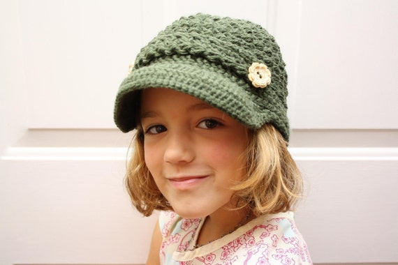 Awesome Adult Newsboy Hat - ANY COLOR