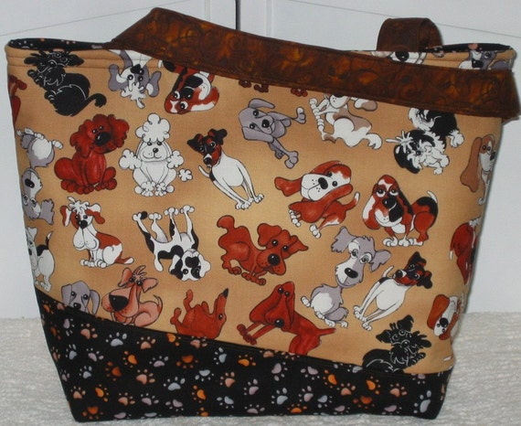 Dog Tote / Ready To Ship