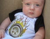 Motorsports Racing Baby Bodysuit