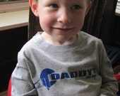 Daddy's Pit Crew Shirt for Baby and Kids