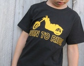 Born to Ride Motorcycle Baby / Kids T-Shirt