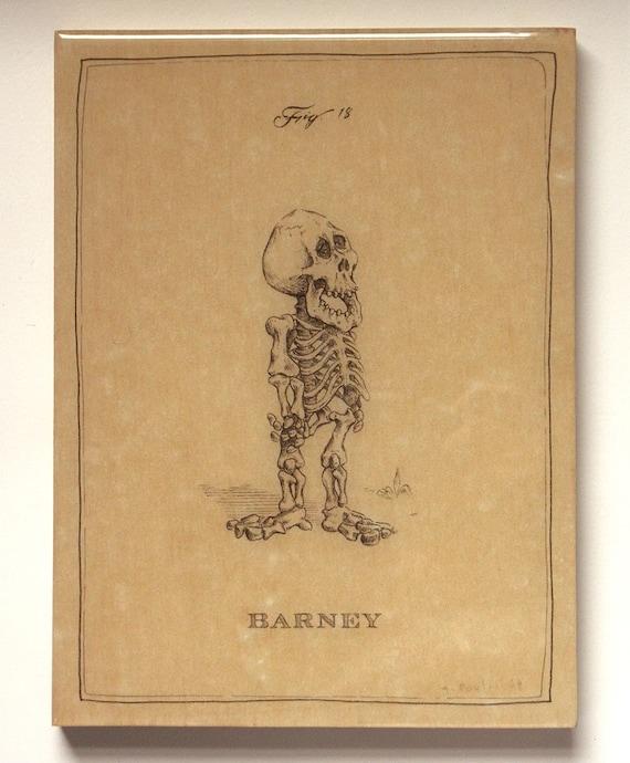 Barney Skeleton (Amber -last one)