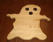 Halloween Ghost Cheese Board - Cutting Board - Halloween Decoration