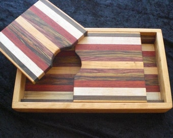 Cutting Board / Serving Tray Combo