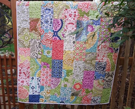 Secret Garden Baby Quilt