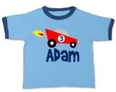 Race Car Birthday Shirt