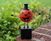 Plump Pumpkin Man