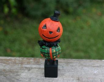 Fancy Pumpkin Man