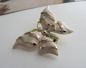 ON SALE: Lovely vintage butterfly brooch signed by Gerry