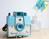 Imperial Flash Camera, Mark XII, Blue