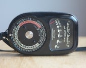 Light Meter, Weston Master II Cine, With Case, Vintage Camera Accessory