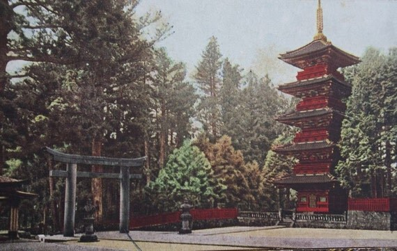 View Postcards from Nikko, Japan, circa WWII, On Sale