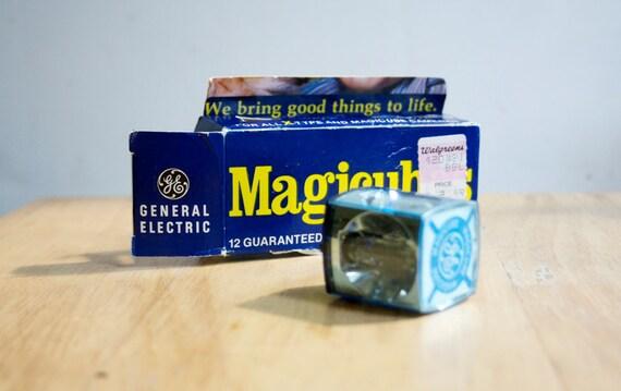 Flash Cubes, Vintage GE Magicube Flash Cubes, Set of 3