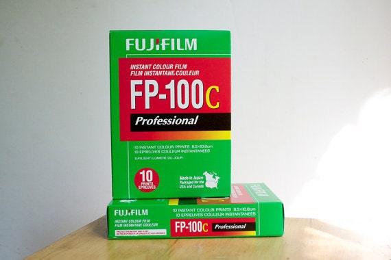 Instant Film, Polaroid 669 Film, Color, 2 packs, Fuji FP 100 C