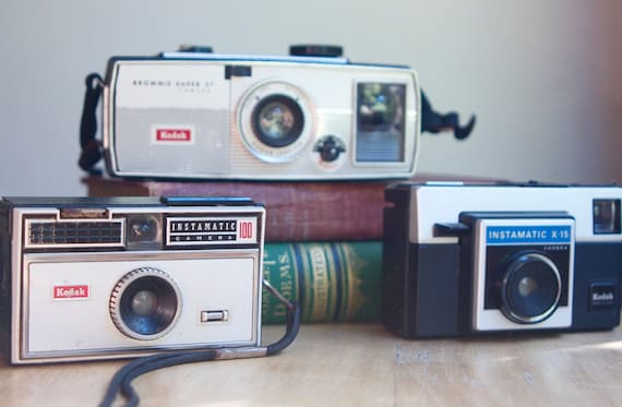 Instant Collection, Old Instamatic Cameras, On Sale