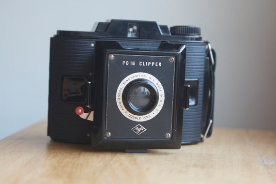 Working Camera, Agfa PD16 Clipper, With Box And Instructions