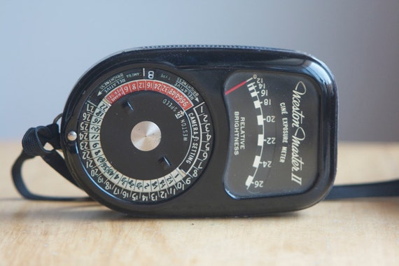 Light Meter, Weston Master II Cine, With Case, Vintage Camera Accessory