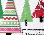 Merry Christmas Cards Set of 2