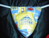 Mens DENVER NUGGETS G-String Thong Male Lingerie Underwear